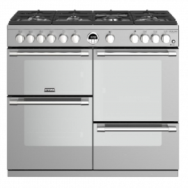Stoves Sterling Deluxe S1000G Stainless Steel 100cm Gas Range Cooker