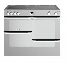Stoves Sterling Deluxe S1000Ei Stainless Steel 100cm Electric Induction Range Cooker