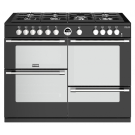 Stoves Sterling Deluxe S1100G Black 110cm Gas Range Cooker