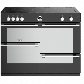 Stoves Sterling Deluxe S1100Ei Black 110cm Electric Induction Range Cooker