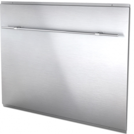 BELLING Splash Back With Rail 110 444449531 Stainless Steel