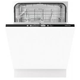 Hisense HV651D60UK Integrated Full Size Dishwasher - White - A+++ Energy Rated