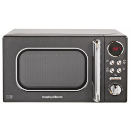 Morphy Richards Evoke Black Microwave 20L Solo 800w 511500