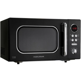 Morphy Richards 511510 23L Black Microwave