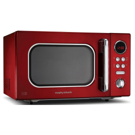 Morphy Richards Accents 511512 Red 23L Microwave