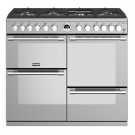 Stoves Sterling Deluxe S1000DF Stainless Steel 100cm