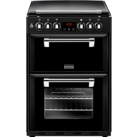 Stoves Richmond 60cm Dual Fuel Cooker Black 600DF