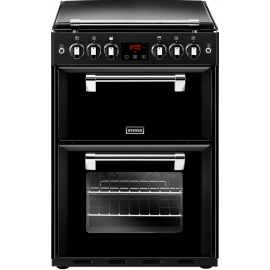 Stoves RICHMOND 60cm Double Oven Gas Cooker Black 600G