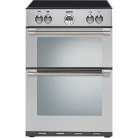 Stoves STERLING 600MFTI 60cm Electric Cooker Double Oven Stainless Steel