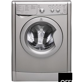 IWDC6125S 1200 Spin, 6kg Load Washer Dryer - Silver
