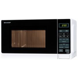 Sharp R272WM 20 Litre Solo Microwave - White