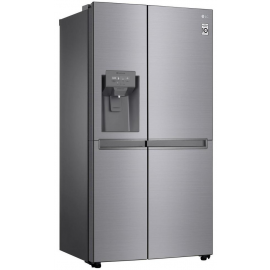 LG GSL480PZXV American Style Fridge Freezer with Ice & Water - Shiny Steel