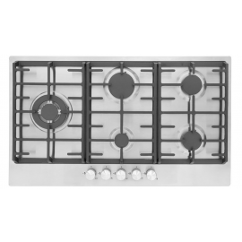 Montpellier MGH90CX 86cm Stainless Steel Gas Hob