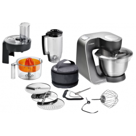 Bosch MUM57830GB Food Mixer, 900 W, 3.9 L - Brushed Stainless Steel