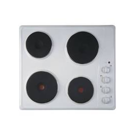 Ignis AKL700WH 4 Zone Solid Plate Hob in White