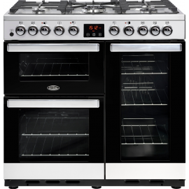 BELLING Cook Centre 90DFT Deluxe 444444106 Stainless Steel