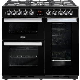 BELLING Cook Centre 90DFT Deluxe 444444105 Black