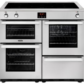 BELLING Cook Centre 100EI 444444090 Professional Steel