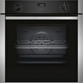 Neff B3ACE4HN0B SLIDE&HIDE® Built In Electric Single Oven - Stainless Steel