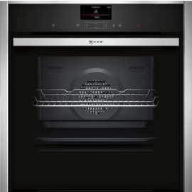 NEFF B57CS24H0B Built In Single Oven Electric - Black / Stainless Steel
