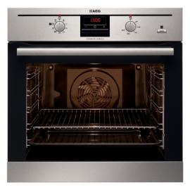zanuusi BE330362KM Built In Single Oven 72L (Net) Multifunction Oven Steam Bake Option Fully Programmable Timer LED Display