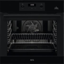 AEG BEB355020B SteamBake Single Oven Black