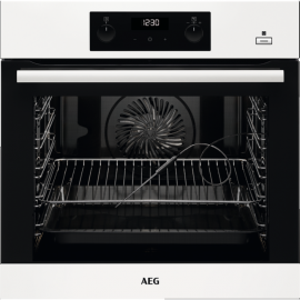AEG BEB355020W SteamBake Single Oven White
