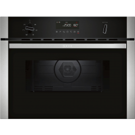 Neff C1AMG84N0B Built-in Compact Oven with Microwave Function Stainless Steel(DISPLAY MODEL)