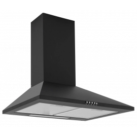CAPLE CCH600BK WALL CHIMNEY HOOD BLACK