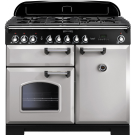 Rangemaster Classic Deluxe 100 Dual Fuel Royal Pearl CDL100DFFRP/C