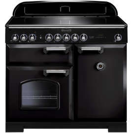 Rangemaster Classic Deluxe 100 Electric (Induction) Black And Chrome CDL100EIBL/C