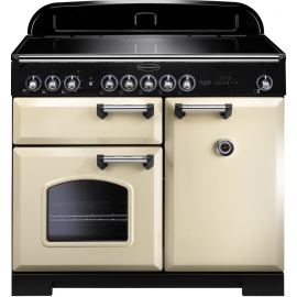 Rangemaster Classic Deluxe 100 Electric (Induction) Cream And Chrome CDL100EICR/C