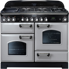 Rangemaster Classic Deluxe 110 Dual Fuel Royal Pearl And Chrome CDL110DFFRP/C