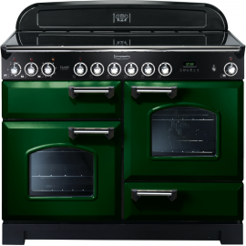 Rangemaster CDL110ECRG/C Classic Deluxe 110 Electric (Ceramic) Racing Green And Chrome