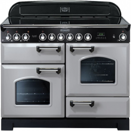 Rangemaster Classic Deluxe 110 Electric (ceramic) Royal Pearl And Chrome CDL110ECRP/C