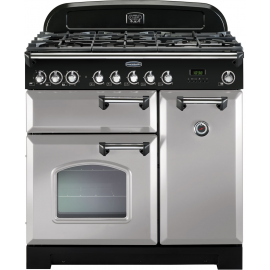 Rangemaster Classic Deluxe 90 Dual Fuel Royal Pearl CDL90DFFRP/C