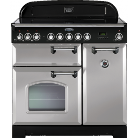 Rangemaster Classic Deluxe 90cm Royal Pearl And Brass CDL90ECRP/B