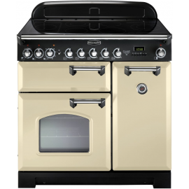 Rangemaster Classic Deluxe 90 Electric (Induction)  Cream And Chrome CDL90EICR/C