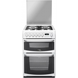 HOTPOINT Cannon CH60DHWF Dual Fuel Cooker with Double Oven