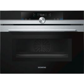 Siemens iQ700 CM633GBS1B Combination Compact Oven & Microwave