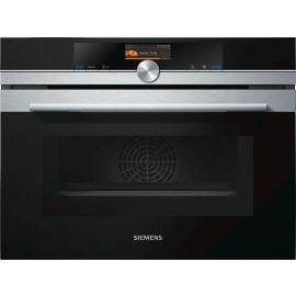 Siemens iQ700 CM676GBS6B Compact Combination Oven With Microwave
