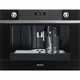 Smeg CMS4101N Linea Built In Automatic Coffee Machine Black