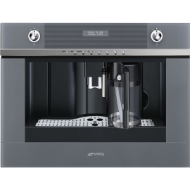 Smeg CMS4101S Linea Built In Automatic Coffee Machine Silver