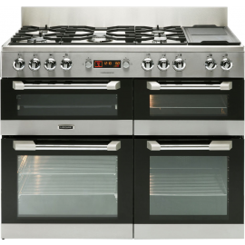 Leisure Cuisinemaster CS100F520X 100cm Dual Fuel Cooker Stainless Steel