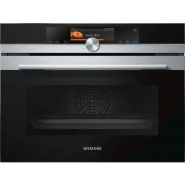 Siemens IQ700 CS658GRS6B Built In Compact Steam Oven Stainless Steel