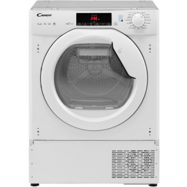 Candy CBTDH7A1TE Built In Heat Pump Tumble Dryer - White