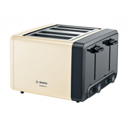 Bosch TAT4P447GB Toaster - Cream