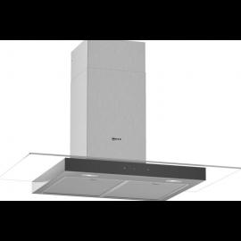 Neff D94GFM1N0B Flat Glass Chimney Hood 90cm