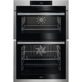 AEG SURROUND COOK BUILT IN DOUBLE OVEN DCE731110M