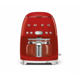 SMEG DCF01RDUK Drip Filter Coffee Machine, Red